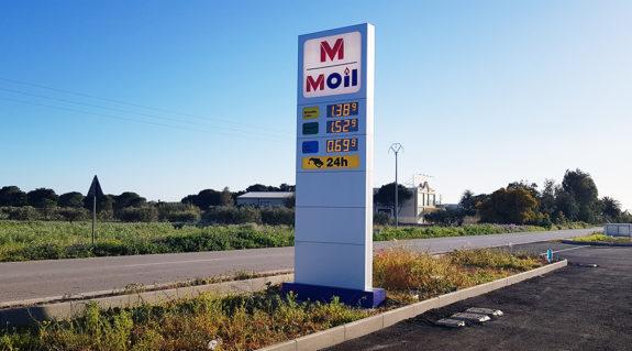 TOTEM e Sistema per la visualizzazione dei prezzi nel settore carburante