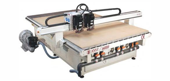 Fresa CNC AXYZ-6010