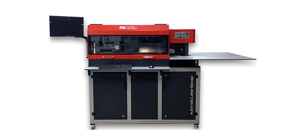 Piegatrice Automatica per lettere 3D ALB-03 SSA 180 Flanger