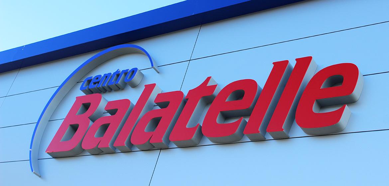 Lettere scatolate Centro BALATELLE