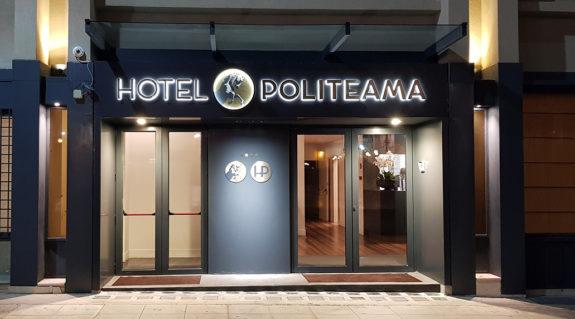 Nuovo look per l'Hotel Politeama di Palermo