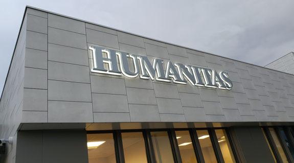 Lavori di realizzazione per Humanitas, Misterbianco (CT).