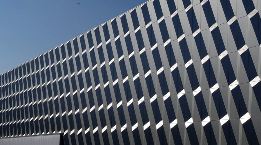 architettura parametrica alucobond filp