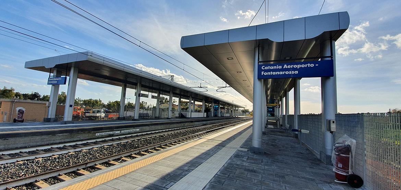 Stazione ferroviaria Fontanarossa
